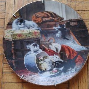 Mischief with the Hatbox by Henriette Renner
